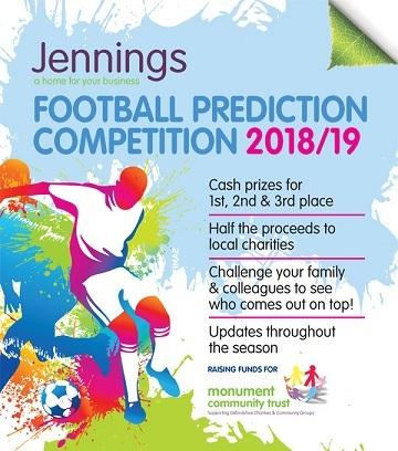 Football Prediction Competition Poster